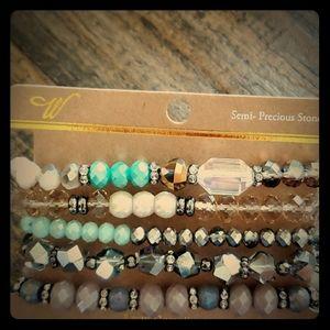 Jewelry - Semi-Precious Stones Bracelet Set